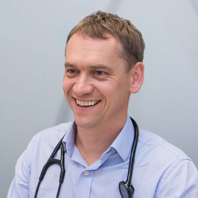 Kardiolog Waldemar Bębenek prywatnie Toruń